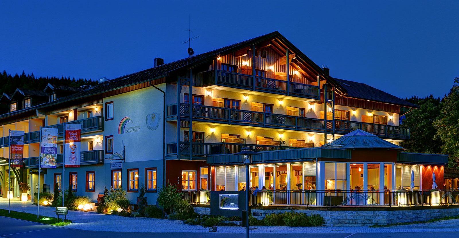 Urlaub in Geiersthal Hotel Kramerwirt