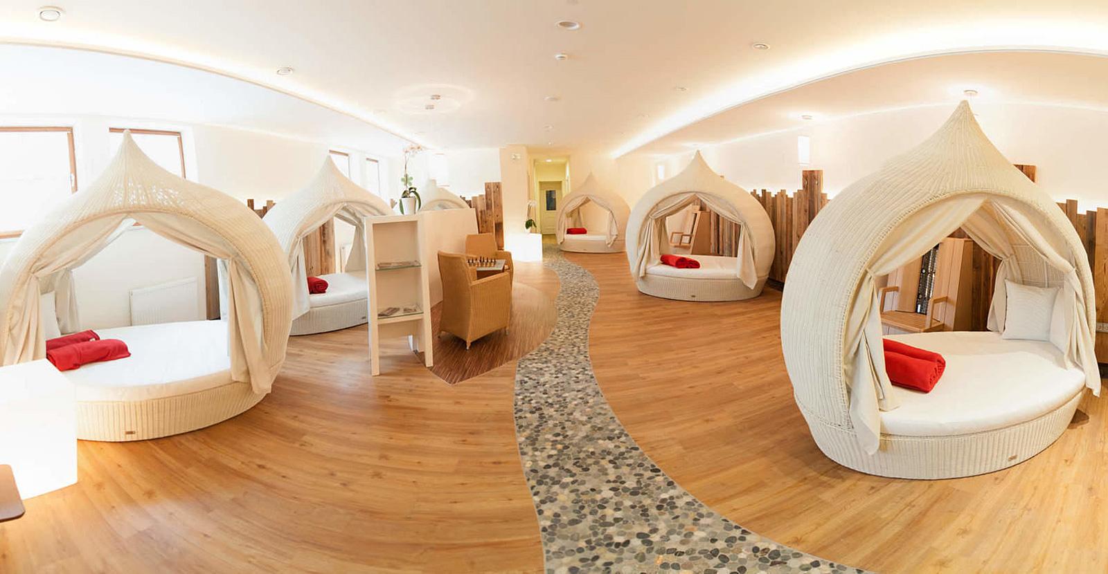 Ruheräume im Hotel Kramerwirt in Geiersthal