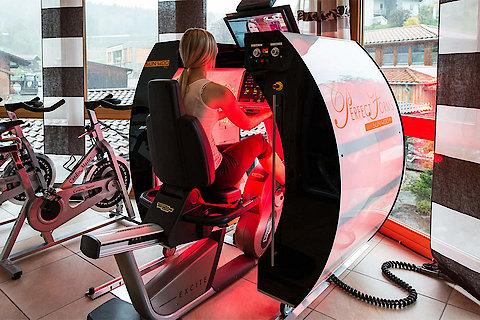 Wellnesshotel mit Fitnessraum