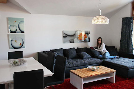 Ferienwohnung Typ A - Wohnzimmer