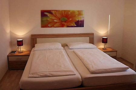 Ferienwohnung Typ C - Schlafzimmer