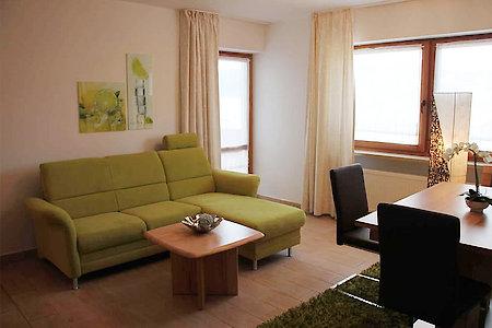 Ferienwohnung Typ D - Wohnzimmer