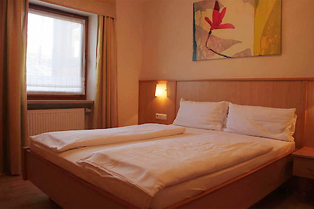 Ferienwohnung Typ D - Schlafzimmer