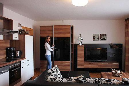 Ferienwohnung Typ E - Wohnküche