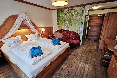 Standard- & Komfortzimmer Typ2 - Schlafraum