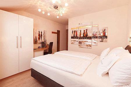 Standard- & Komfortzimmer Typ3 - Schlafraum