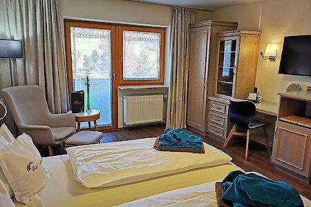 Standard- & Komfortzimmer Typ5 - Aussicht Balkon